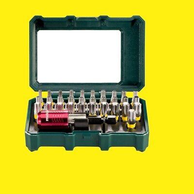 "METABO TORX Bit-Set Bit-Box ""SP"" 32-teilig TORX  626709000 Bitset mit Bithalter"