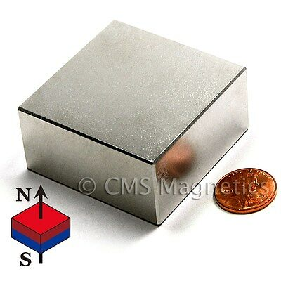 N50 Neodymium Magnet 2x2x1 Ndfeb Rare Earth Magnets Block 1 Pc