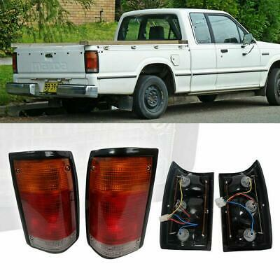 For Mazda Bravo B-Series B2000 B2200 B2600 Truck Pickup Pair Tail Light 1986-93 Mazda B2600 Truck