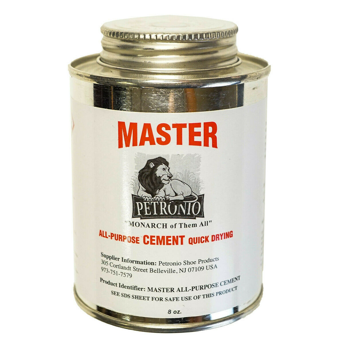 Petronios Master Contact Cement 8oz Glue Shoe sole Adhesive Shoe Repair Cement Adhesives, Sealants & Tapes