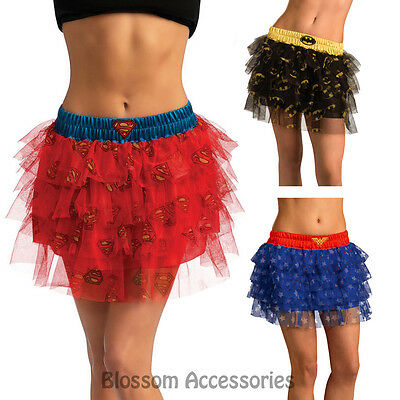 CL244 Wonder Woman Batgirl Supergirl Tutu Skirt Sequins Superhero Hero Costume  ()