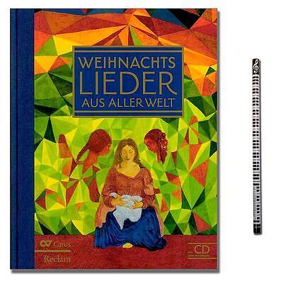 Weihnachtslieder aus aller Welt mit CD, Musik-Bleistift EAN: 9783899482430
