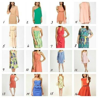 WHOLESALE LOT CLOTHING 100 WOMEN MIXED DRESSES SUMMER TOPS CLUBWEAR S M L XL
