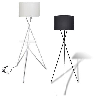 vidaXL Stehlampe 139cm Stehleuchte Standleuchte Bodenlampe Lampe Schwarz/Weiß