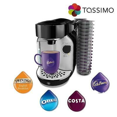 Tassimo Caddy Costa Coffee Hot Drinks Machine 1300W TAS75SE2GB Bosch Grade C