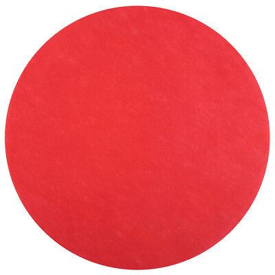 Platzset / Tischset Rund (50 Stück) - rot - Deko Hochzeit Tischdekoration