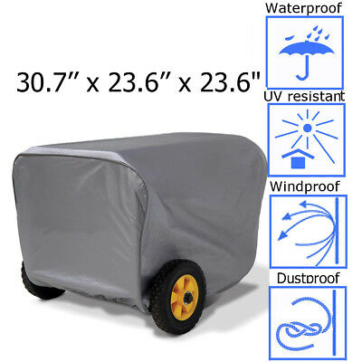 30.7 Generator Storage Cover For Champion Portable Weather-resistant Dustproof