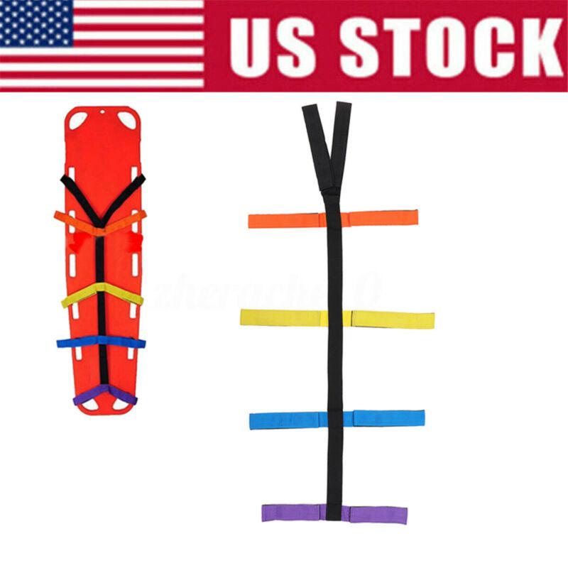 Backboard Color Coded Spider Straps for Spine Board Stretcher Immobilization US