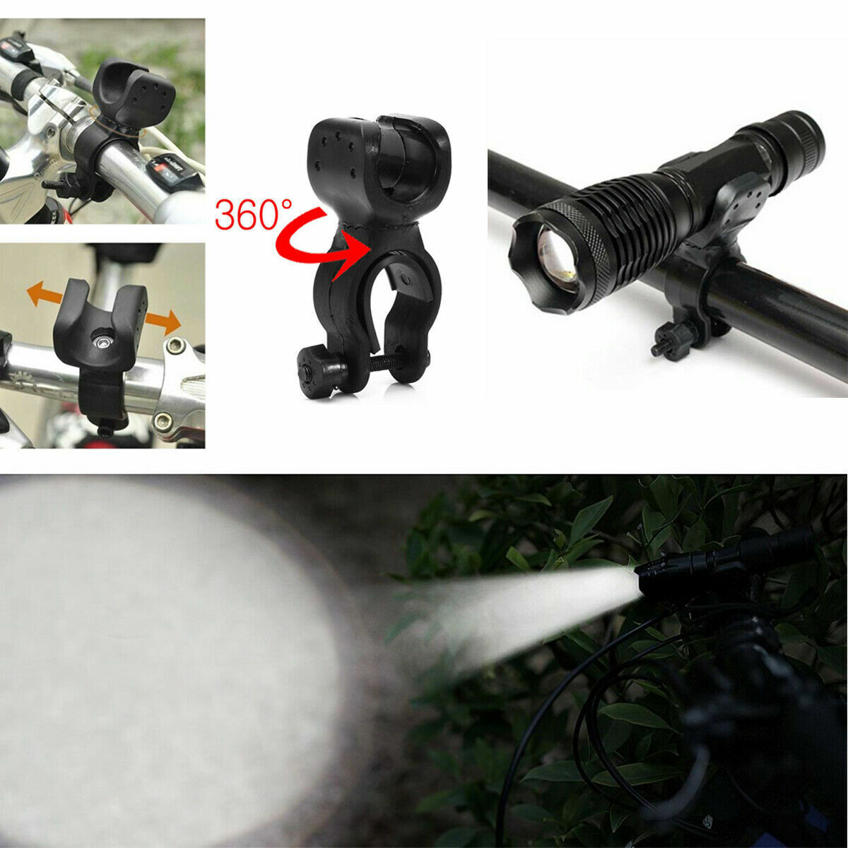 2 PACK 20000lm USB Rechargeable CREE T6 LED Tactical Flashlight Torch Eaglehawk Camping & Hiking