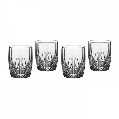 Waterford Double Old Fashion Glasses, 12 oz.., Set of 4 12 Oz Double Old Fashion