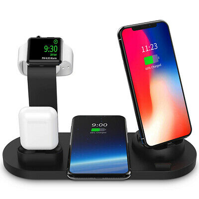 For Apple AirPods / iPhone/ Watch 3in1 Wireless Charger Charging Dock Station