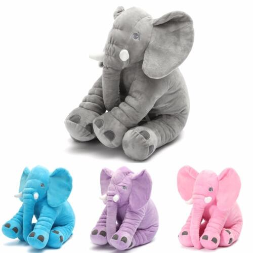 Baby Children Long Nose Elephant Doll Pillow Lumbar Pillow Soft Plush Stuff Toys