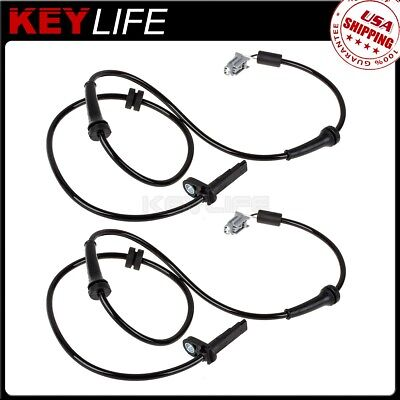 2pcs 5S11191 ABS Wheel Speed Sensor Front Left Right For Nissan Altima 2009-2012
