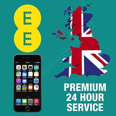 PREMIUM Apple iPhone 5 5C 5S Unlock Unlocking Service EE ORANGE T-MOBILE UK