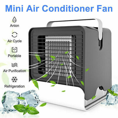 Portable Air Conditioner Fan Cool Cooling For Bedroom Car Mobile Cooler Fan J0E7