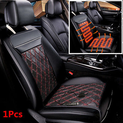 12V Car Seat Cushion Low Pressure Carbon Fiber Warm Electric Heating Seat Cover