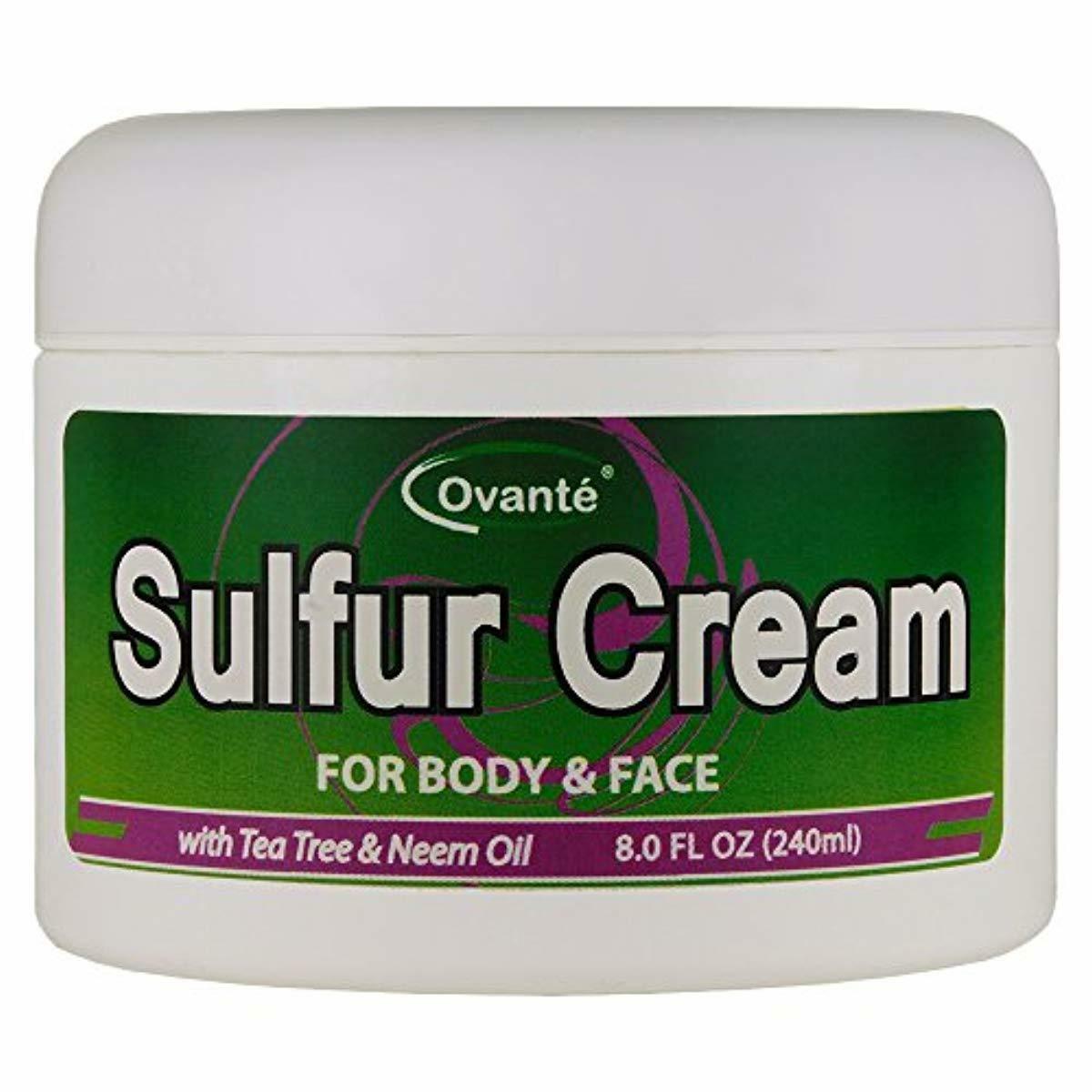 sulfur skin cream 8 oz 240 ml
