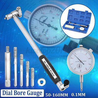 Dial Bore Gauge 50-160mm 0.01mm Bridge Cylinder Internal Bore Measuring Gage