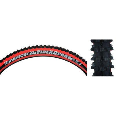 (Panaracer Fire XC Pro 2.1 Black/Red Steel Bead)