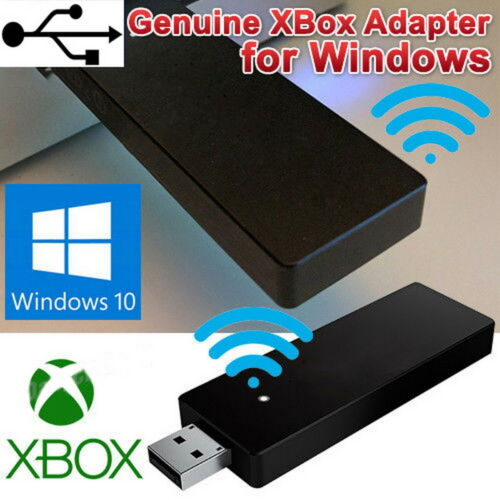 For XBOX One Wireless USB Gaming Receiver Adapter PC control