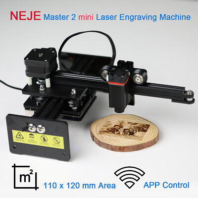 Neje Master 2 10w Mini Laser Engraving Carving Machine Engraver App Control Mark