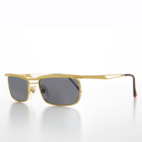 Easy Rider Metal Vintage Mens Sunglass Tortoise Gold Frame Gray Lens - Fonda