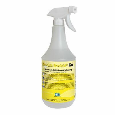 Destec Bavicid Go - Oberflächen Desinfektionsmittel Reinigung 1L Sprühflasche