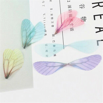 10pcs Fashion Dragonfly Wing Charms for DIY Women Earrings Pendant Jewelry Gifts