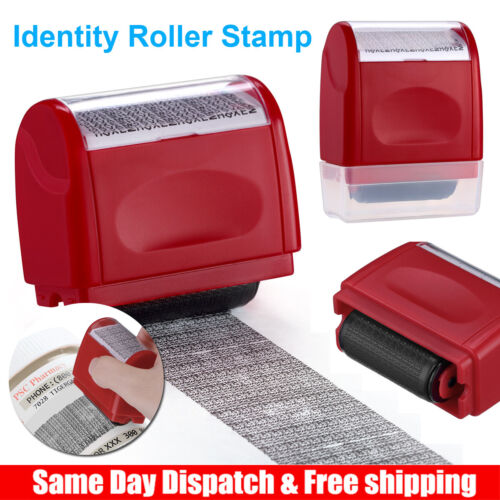 Roller Identity Theft Protection Stamp Guard Your ID Privacy Confidential Data