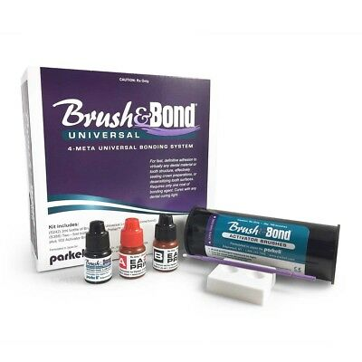 Parkell - Brushbond Universal 4-meta Bonding System  S242 S388 100 Brushes