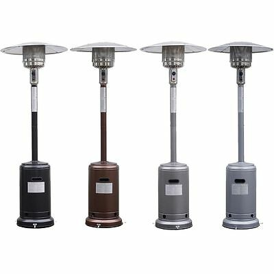 Garden Outdoor Patio Heater Propane Standing LP Gas Steel deck event Heat lamp