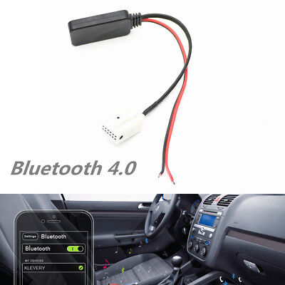 - Bluetooth 4.0 AUX Adapter Cable For MCD RNS 510 RCD 200 210 300 310 500 510