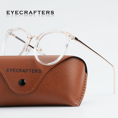 Retro Mens Womens Clear Lens Eyeglass Frames Designer Optical Computer Glasses 8