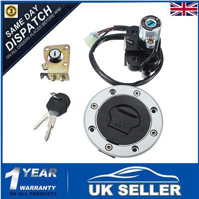Ignition Switch Gas Cap Cover Lock key Set For SUZUKI GSXR750/GSXR600