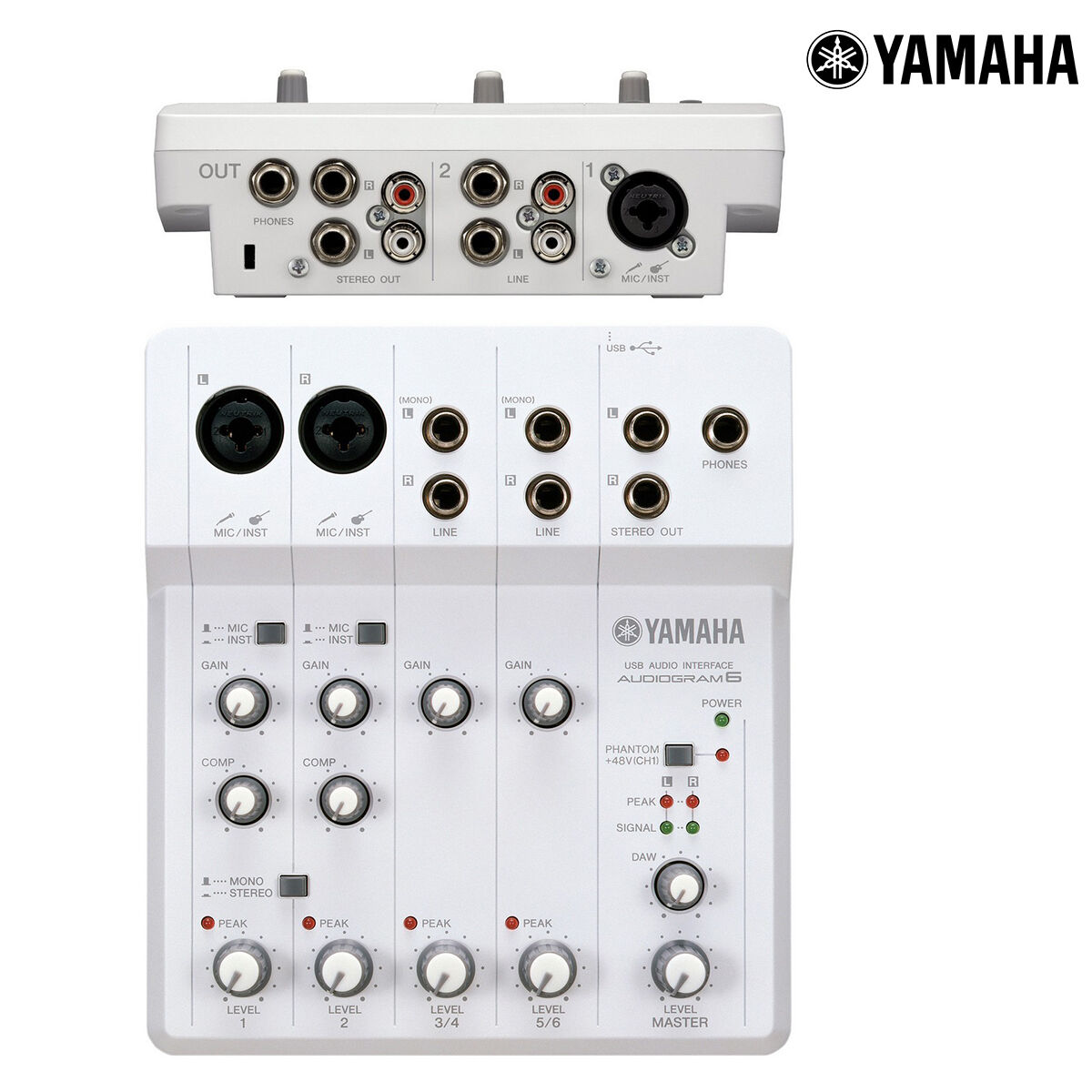 yamaha audiogram 6 usb audio recording interface mixer ag6 l authorized dealer 86792884592 ebay. Black Bedroom Furniture Sets. Home Design Ideas