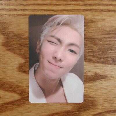 RM Official Photocard BTS Map Of The Soul : Persona ver.02 Genuine Kpop