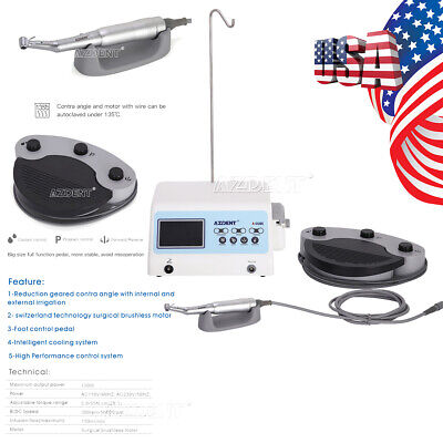 Azdent A-cube Dental Implant System Surgical Brushless Motor201 Contra Angle