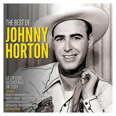Johnny Horton THE BEST OF 50 Original Recordings ESSENTIAL COLLECTION New 2 (Best Of Johnny Horton)