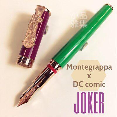 Montegrappa Special Edition DC Comics Heroes & Villains Joker Fountain Pen