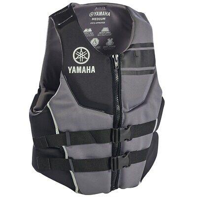 YAMAHA Neoprene USCG Approved Life Vest Jacket ALL SIZES BLACK RED BLUE 2020 Uscg Life Vests