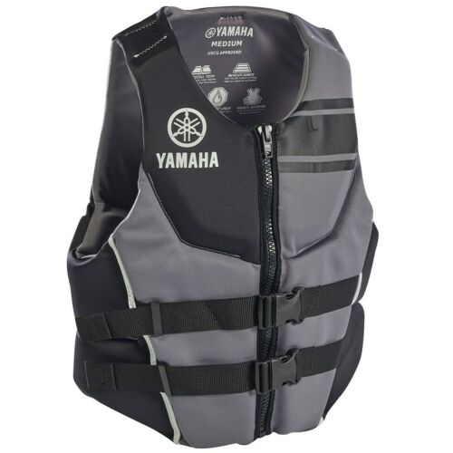 YAMAHA Neoprene USCG Approved Life Vest Jacket ALL SIZES BLACK RED BLUE 2020