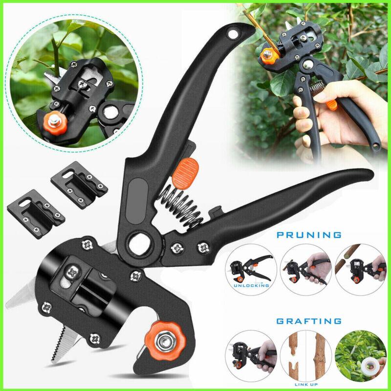 Pro Pruning Shears Garden Grafting Knife Tool Set Kit Fruit Tree Scissor Cutter
