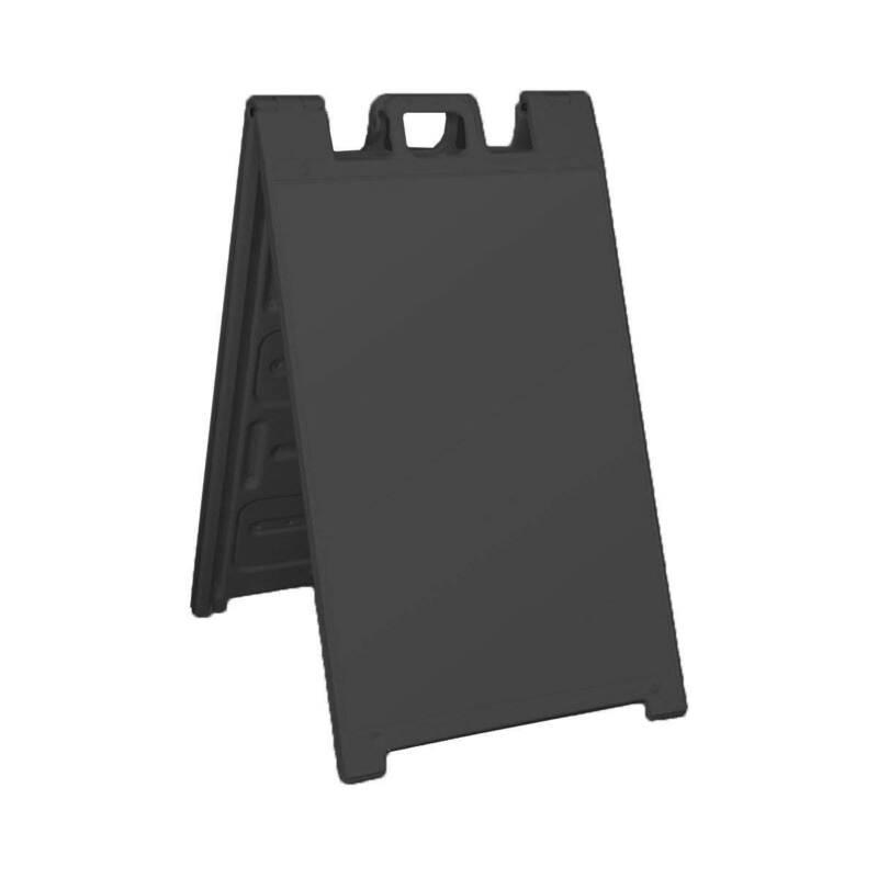Plasticade Signicade Portable Plastic A Frame Sidewalk Sign Stand (Open Box)