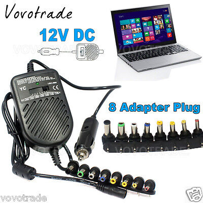 Universal DC Car Charger Adapter for Laptop NOTEBOOK for HP for IBM for Sony (Hp Laptop Car Charger)