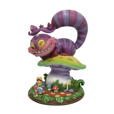 "The World of Miss Mindy Cheshire Cat from ""Alice in Wonderland"" Stone Resin"