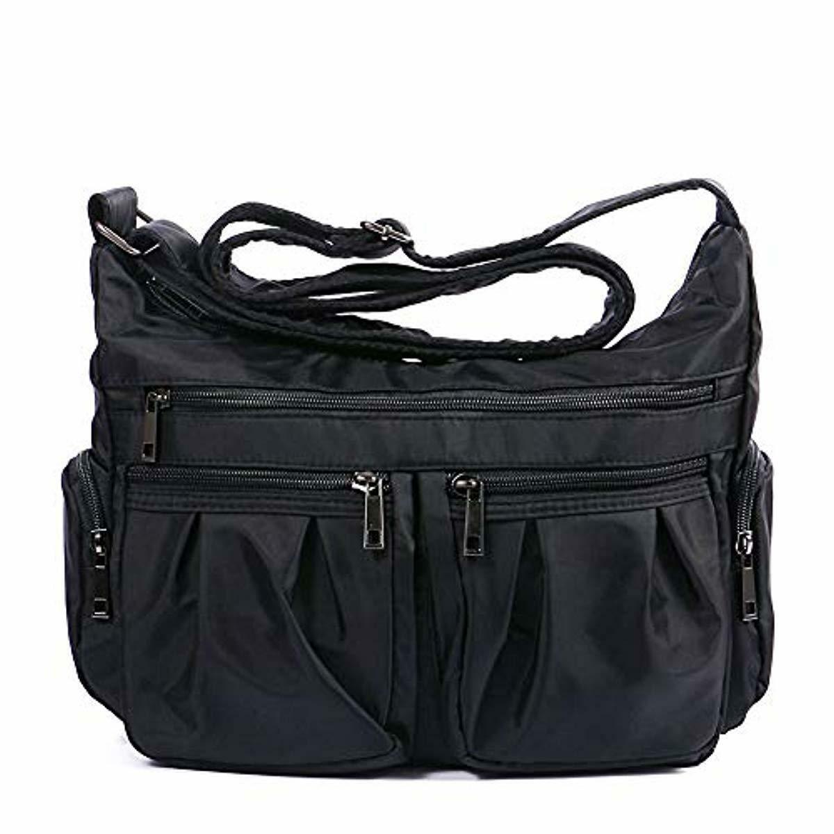 Crossbody Bags for Women Multi Pocket Shoulder Bag Waterproo