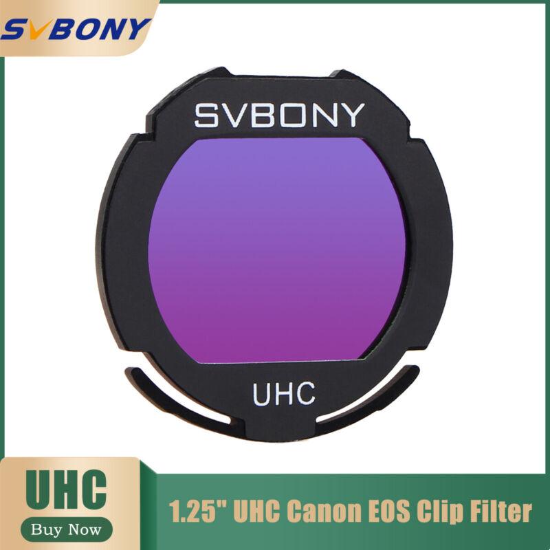 SVBONY 1.25inch  UHC Canon EOS Clip Filters for CCD Cameras&DSLR Astro Accessory