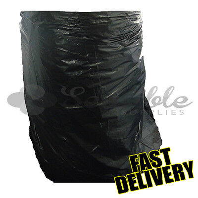 100 Wheelie Bin Refuse Liners Sacks Garden Waste Rubbish Supplies Bags 30x46x54