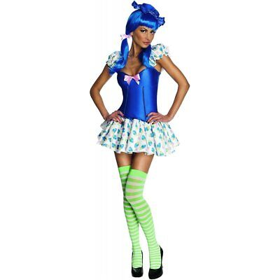 Strawberry Shortcake Blueberry Muffin Sexy Adult Women's Costume (XS/P 0-2) - Blueberry Muffin Costume