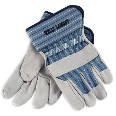 Wells Lamont White Mule Leather Palm Work Gloves - 224